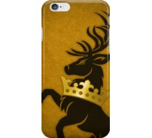 Crowned Stag iPhone Case/Skin