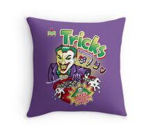 Tricks Throw Pillow