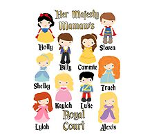 Grandma Mommy Disney Princess Prince Personalized ~BUBBLEMAIL ME FOR YOUR LISTING~  by sweetsisters