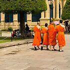 Thailand - Monks by Davrod