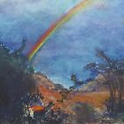 Rainbow Valley (pastel) by Niki Hilsabeck