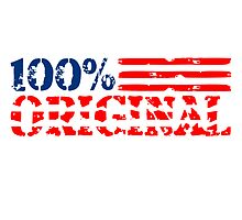 America United States flag 100% original by Style-O-Mat