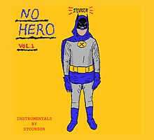 Stounson - No Hero Vol. 1 cover art by SuperVintendo64