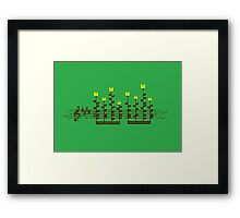 Sound Garden Framed Print