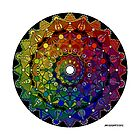 Mandala 46 Throw Pillow by Mandala Jim by mandala-jim