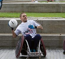 London Mayor joins international stars to officially launch World Wheelchair Rugby Challenge by Keith Larby