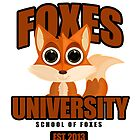 Foxes University by Adamzworld