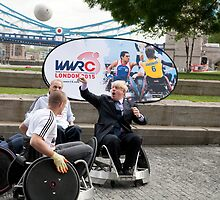 London Mayor Boris Johnson joins international stars to officially launch World Wheelchair Rugby Challenge by Keith Larby