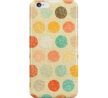 vintage dot iPhone Case/Skin