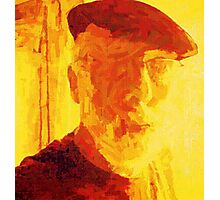 SELF PORTRAIT OF THE ARTIST AS AN OLD GUY. Photographic Print