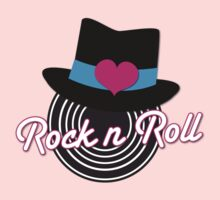 Rock n Roll cute record top hat Kids Clothes