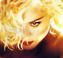 Madonna Blond Ambition by Ged J