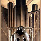 Mondasopolis - Dr Who's Cybermen, Metropolis style by sandnotoil