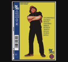"""LL COOL J: RADIO (BACK COVER ARTWORK)"" by SOL  SKETCHES™"