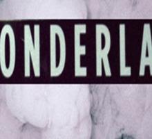 Wonderland Print Sticker