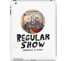 REGULAR SHOW (black) iPad Case/Skin