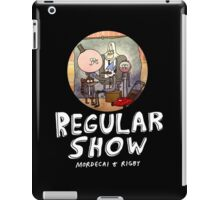 REGULAR SHOW (white) iPad Case/Skin