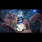 space cat bong art by Ashley Peppenger