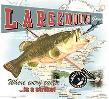 largemouth bass by redboy
