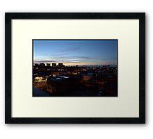 Birmingham Mountains Framed Print