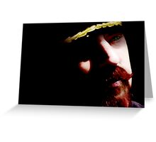 Captain Red, captain of Space Train Antares Greeting Card