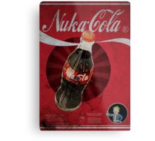 Nuka Cola Poster Metal Print
