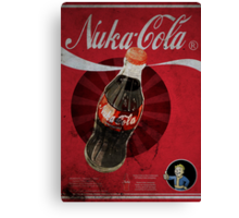 Nuka Cola Poster Canvas Print