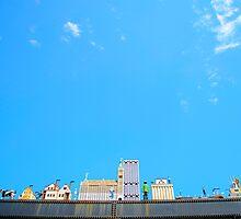 skyline by Xxina