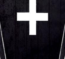 Celebritarian Coffin Sticker