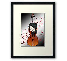 Chibi Haji Framed Print