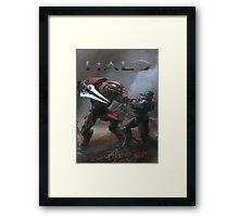 Halo Poster  Framed Print