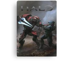Halo Poster  Canvas Print
