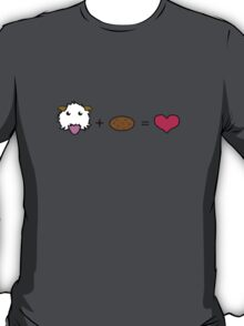 Poro + Cookie = <3 wihout text [League of legends] T-Shirt