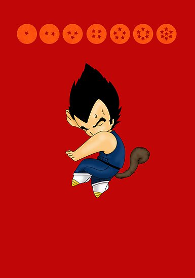 Dancing Vegeta by artwaste