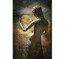 Sister moon... Photographic Print