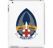 254th Helicopter Ambulance - Dust-Off iPad Case/Skin