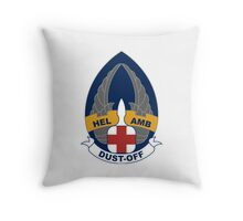 254th Helicopter Ambulance - Dust-Off Throw Pillow