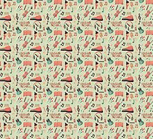 Once Seamless Pattern by Johnny Isorena