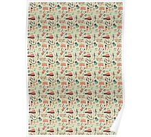 Once Seamless Pattern Poster