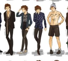 some fav clothes of H Sticker