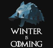 House Stark Winter is Coming Wolf by loganator