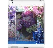 Still life garden - Sweet Pea Birthday flowers iPad Case/Skin
