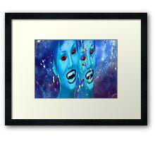 Space Vampires Framed Print