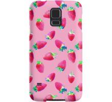 Pink Strawberry Pop Samsung Galaxy Case/Skin