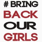 Bring Back Our Girls -Nigerian Girls by incetelso