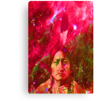 Ghost of Sitting Bull Canvas Print