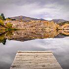 Blue Lake, NZ by Chris Brunton