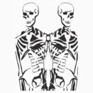 Double Skeleton T-shirt by Portia Greenwood