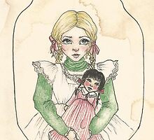 Victorian Child 'Lily' by Eleanor Ruby Jones