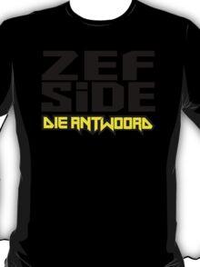 """ZEF SIDE """"Die Antwoord"""" T-Shirt"""